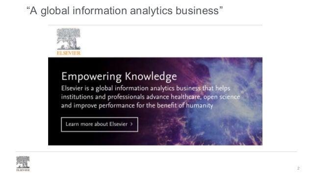 Elsevier's Healthcare Knowledge Graph Slide 2
