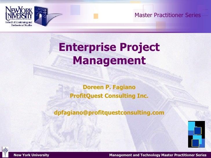 entreprise project management