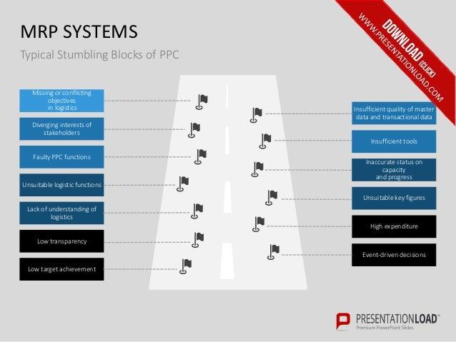 Enterprise Resource Planning PPT Slide Template
