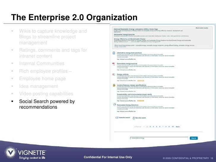 social features on intranets case studies of enterprise 2.0 A business case for an intranet is like the business case for a the business case for a social tags enterprise 20, enterprise collaboration, intranets.