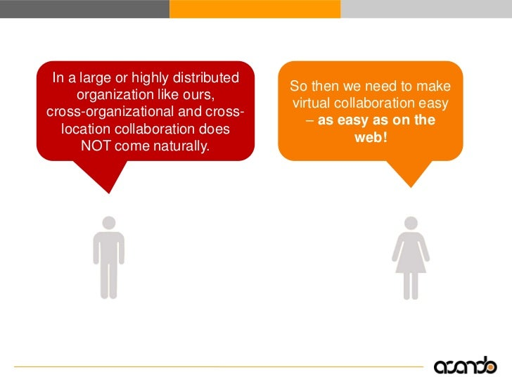 The gulf of collaboration                                                      We need simpler and                        ...