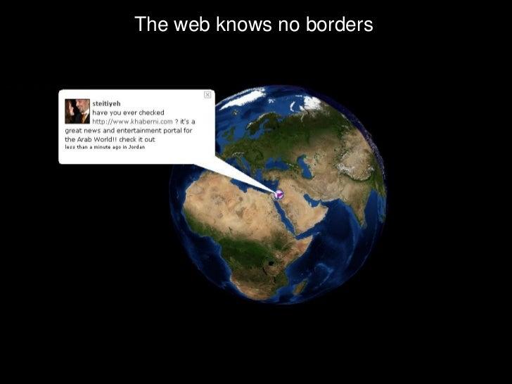 The web knows no borders