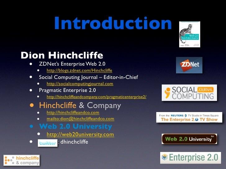 Exploring Early Enterprise 2.0 Methodologies | Enterprise 2.0 Conference West 2009 Slide 2