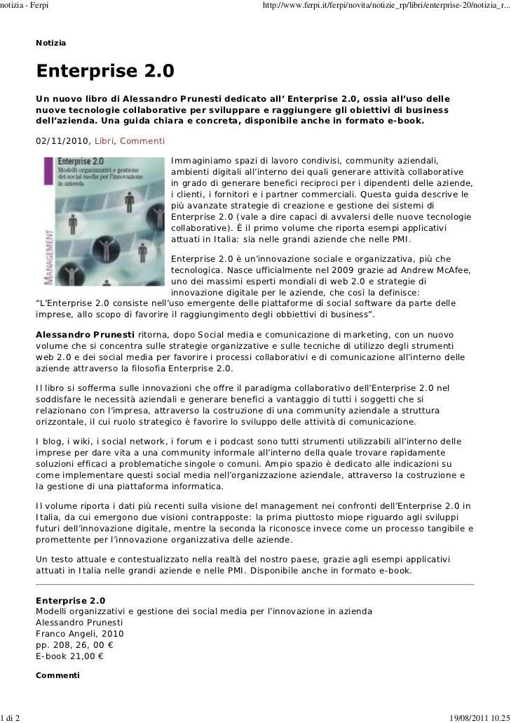 notizia - Ferpi                                                   http://www.ferpi.it/ferpi/novita/notizie_rp/libri/enterp...