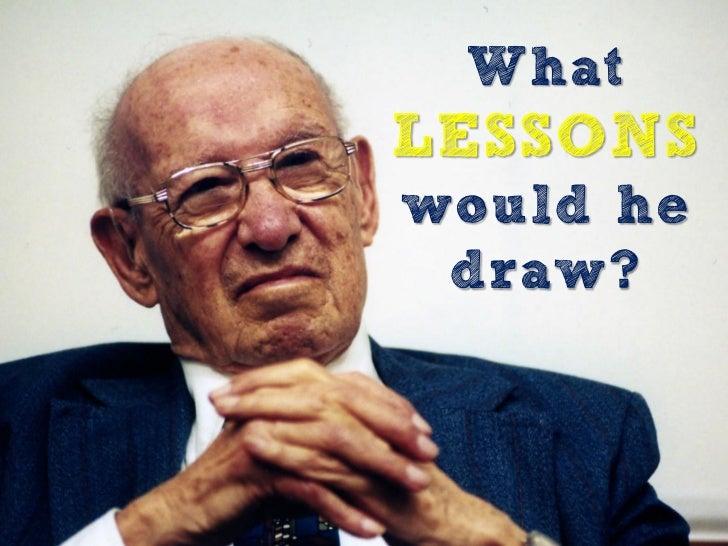 What if Peter Drucker Taught Enterprise 2.0 Strategy? Slide 2