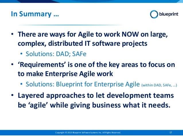 Enterprise agile requirements case example 16 17 malvernweather Images