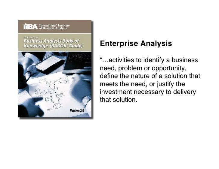 Enterprise analysis – the dark domain Slide 2