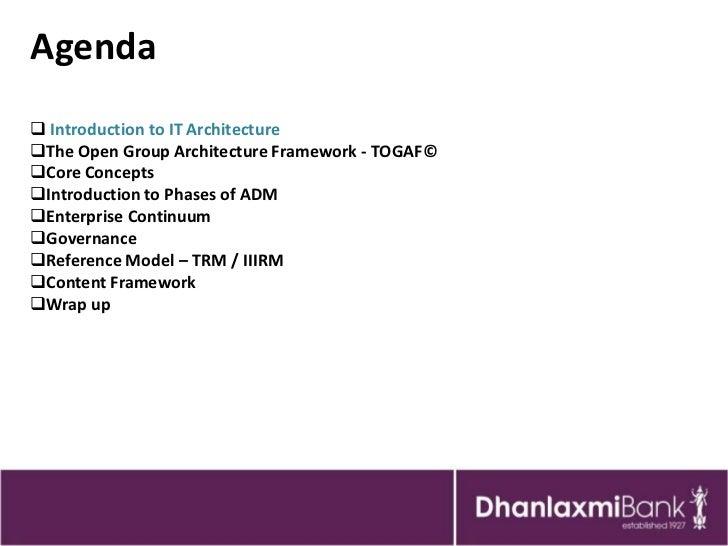 Enterprise Architecture Approach   Togaf 9 Slide 2