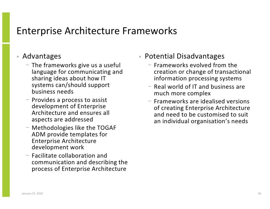 Enterprise Architecture Implementation And The Open Group