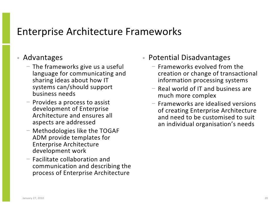 Amazing Enterprise Architecture Frameworks U2022 Advantages ... Amazing Pictures