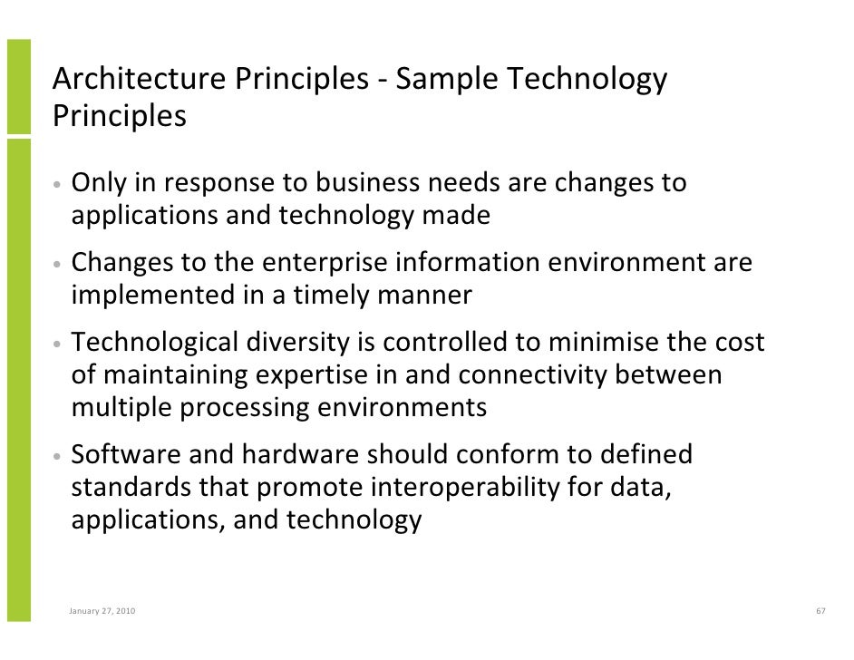 Enterprise Architecture Implementation And The Open Group Architectur…