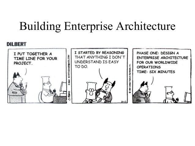 enterprise arhitecture blueprint objectives
