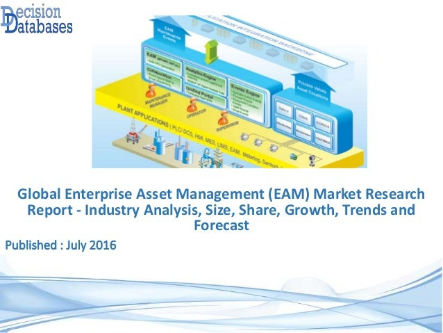 Published : July 2016 Global Enterprise Asset Management (EAM) Market Research Report - Industry Analysis, Size, Share, Gr...