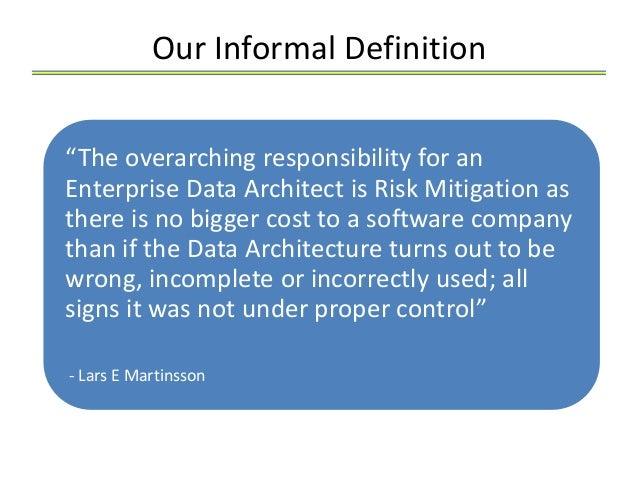 Enterprise Data Architect Job Description – Architect Job Description