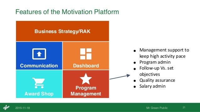 Motivation of business activity