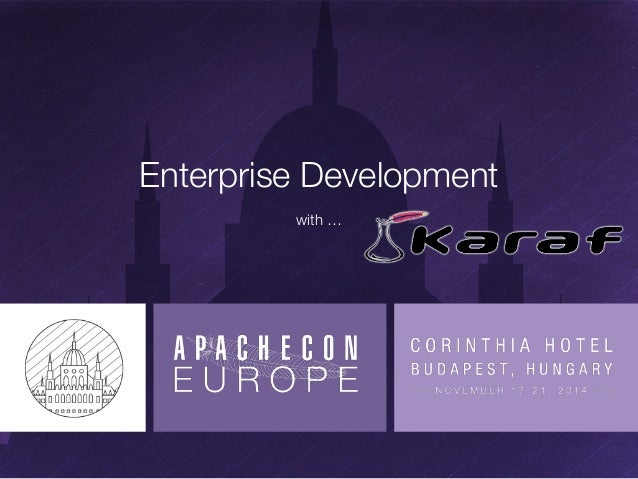 Enterprise Development  with …