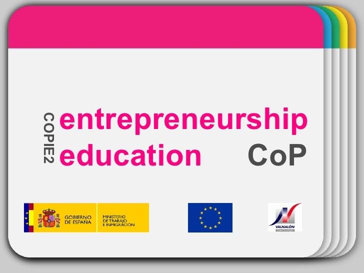 WINTER Template CoP COPIE2 entrepreneurship education