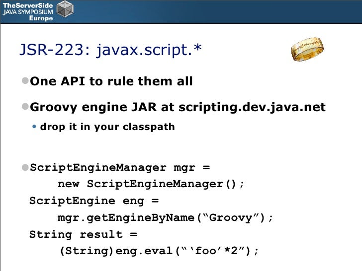 writing scripts in groovy The createdepsgroovy script creates a file named depstxt in ${basedir}/target/classes which contains a list of direct project dependencies, and the copysourcegroovy script copies the source from ${basedir}/src/main/java to ${basedir}/target/classes.
