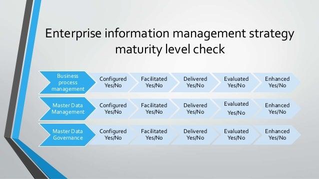 Enterprise information flow and data management