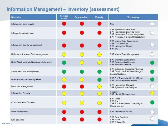 enterprise information management Enterprise information management is a holistic approach involving all information assets.