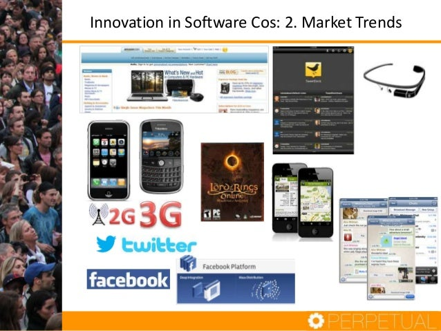 Innovation in Software Cos: 2. Market Trends