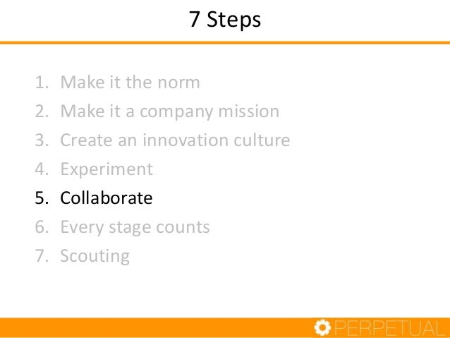 Internal Collaboration • Plan joint working activities across business units – Eg Editorial and Tech hackathon – BizDev an...