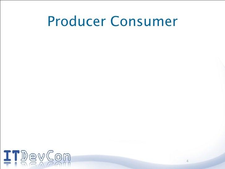 Producer Consumer                         4