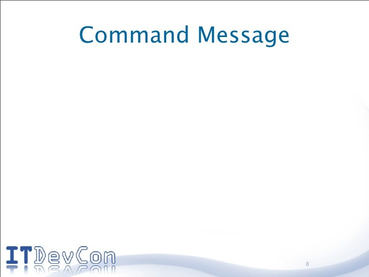 Command Message                       8