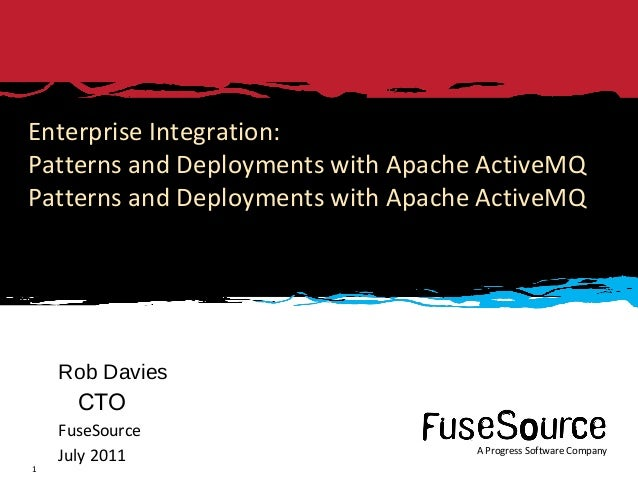Enterprise Integration Patterns with ActiveMQ