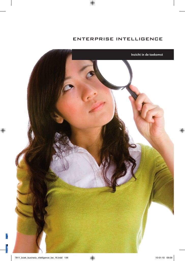 enterPrise intelligence                      Inzicht in de toekomst     136