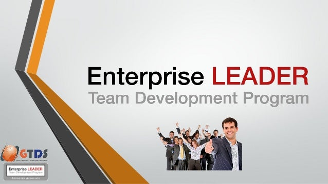 Enterprise Leadership You need to drive change in order to survive or grow. Standing still is not an option. Enterprise Le...