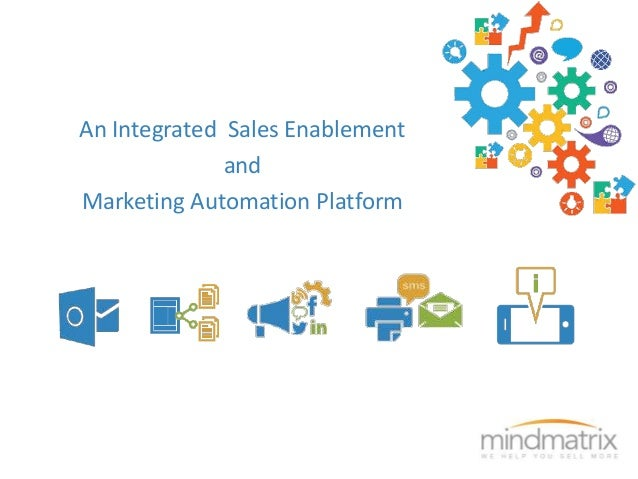 An Integrated Sales Enablement  and  Marketing Automation Platform