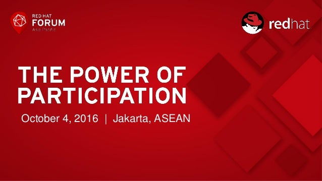 October 4, 2016 | Jakarta, ASEAN