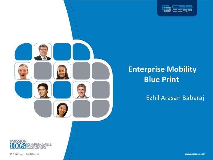 Enterprise Mobility                                                 Blue Print                                            ...