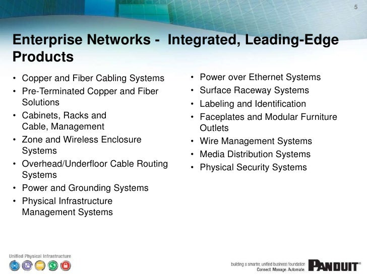 Enterprise Networks for Connected Buildings