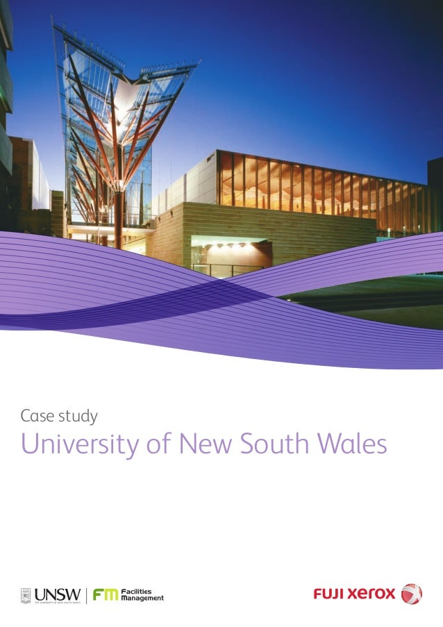 Case study University of New South Wales