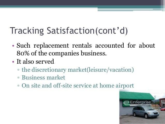 Enterprise Rent A Car Survey Questions