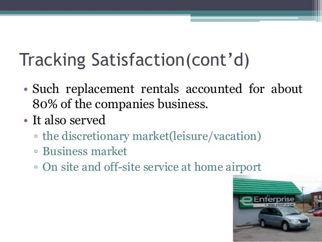 Enterprise Rent A Car Customer Survey