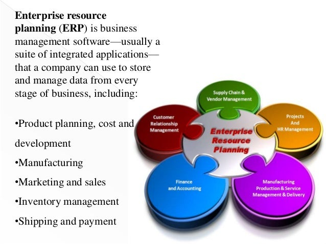 the fuctinons and importance of an enterprise resource planning erp system Understanding the role of erp in supply chain management  the many potential benefits of enterprise resource planning  implemented an erp system, the collected.
