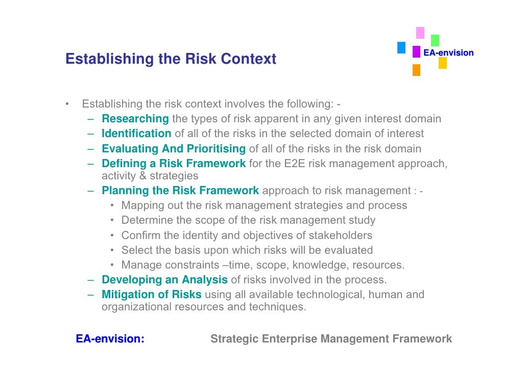 business risks in the context of Marketing risk management: seeing around the corner for  places risk within the context of change and  sales and marketing risks are business risks.