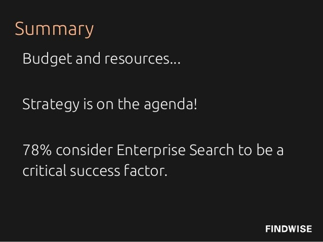 Enterprise Search and Findability Survey 2013