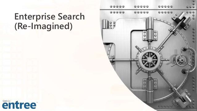 Enterprise Search (Re-Imagined)