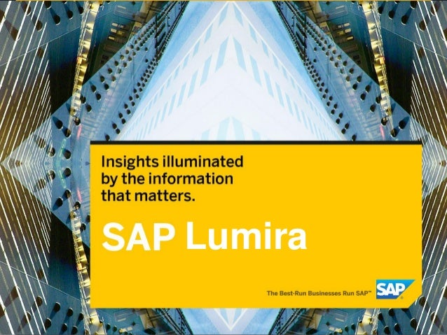 © 2013 SAP AG. All rights reserved. 0Lumira