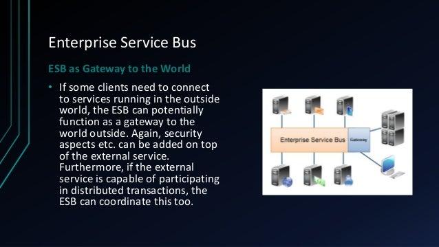Enterprise service bus thesis