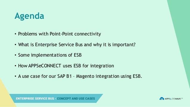 Enterprise Service Bus – Concept and Use-case Slide 3