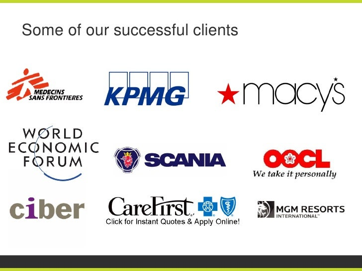 Some of our successful clients