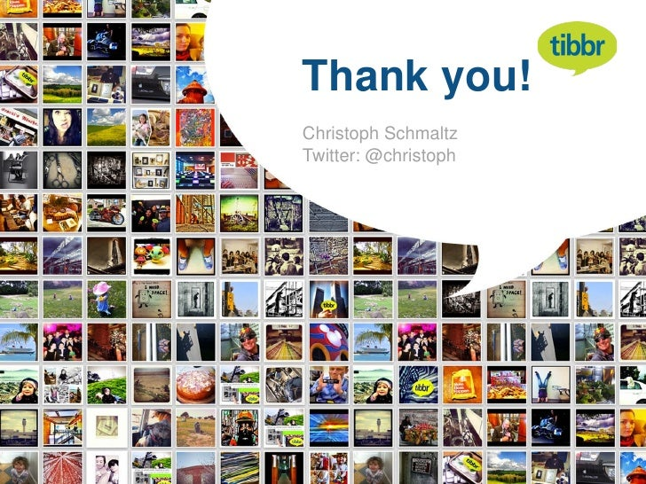 Thank you!Christoph SchmaltzTwitter: @christoph