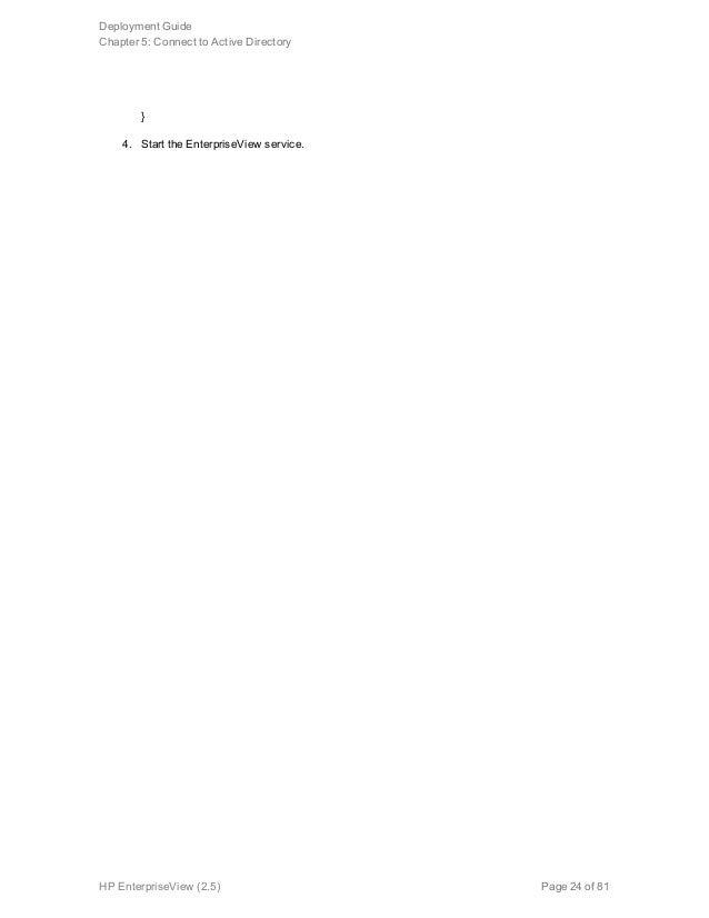 ArcSight Enterprise View Deployment Guide