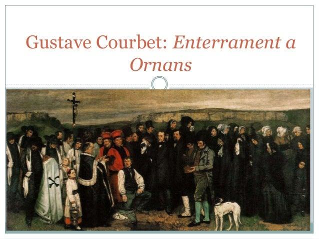 Gustave Courbet: Enterrament a Ornans