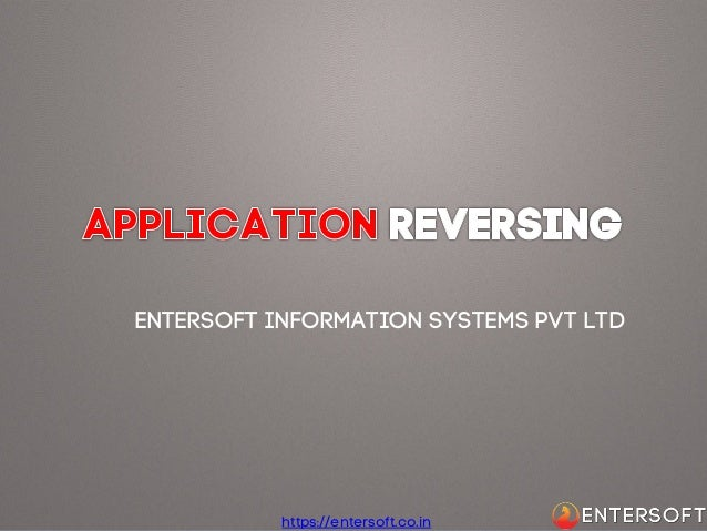 Entersoft Information Systems Pvt Ltd  https://entersoft.co.in